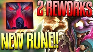 """New Bloodmoon Keystone Rune, Udyr and Dr. Mundo Reworks & More In League of Legends Early Patch 7.15 Look! """"Like"""" if you..."""