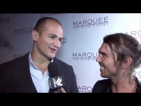 Foxtel/Fuel TV – UFC Launch  2012 with Dana White and Junior Dos Santos