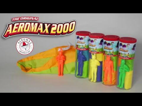 Aeromax 200 Tangle Free Toy Parachute