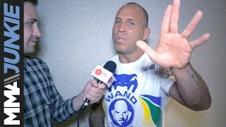 Wanderlei Silva predicting KO of Chael Sonnen at Bellator NYC Subscribe to get the latest MMA news and videos:...