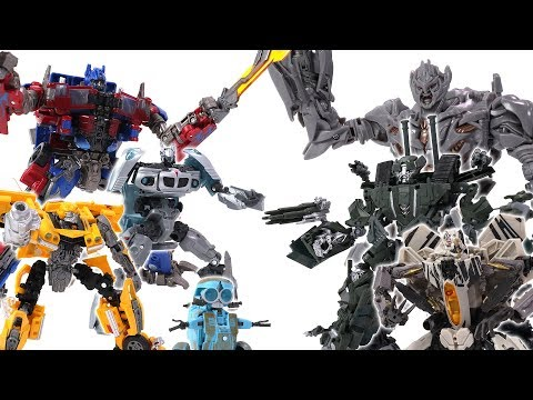 Transformers Toys Battle - Autobots Vs. Decepticons
