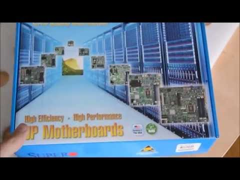 Supermicro MBD-X10SRi-F [Motherboard] Unboxing