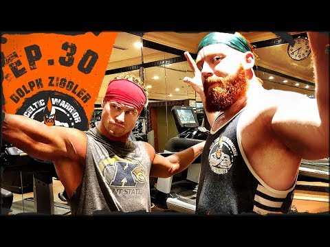 Ep.30 Dolph Ziggler Upper Body & Footwork Workout...