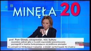 """""""Taka rola dziennikarza"""". Lewicka w akcji."""
