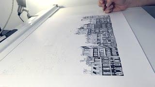 Un quartier de Paris illustré en 75h