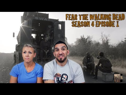 "Fear The Walking Dead Season 4 Episode 1 ""What's Your Story?"" Premier REACTION"