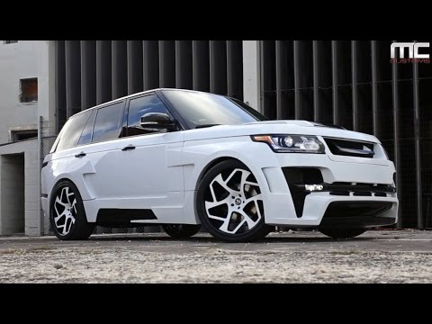 MC Customs | Hamman Widebody Range Rover · Vellano Wheels