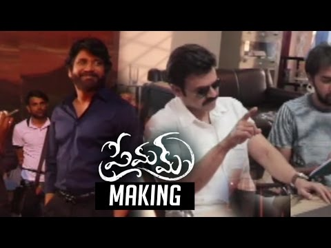 Venkatesh & Nagarjuna Episodes Making Video | Premam Movie Making