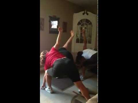 Insanity Workout with sisters gone horribly wrong!