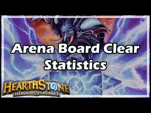 [Hearthstone] Arena Board Clears Statistics видео