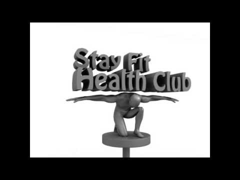 Logo Stay fit health club