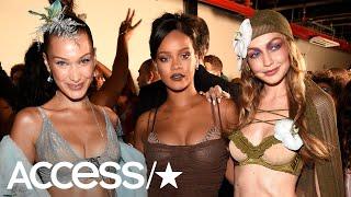 Bella Hadid & Gigi Hadid Dazzle In Lingerie In Rihanna's Savage X Fenty Fashion Show | Access