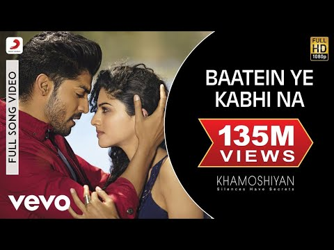 Video Baatein Ye Kabhi Na - Khamoshiyan | Ali Fazal | Sapna Pabbi | Arijit Singh download in MP3, 3GP, MP4, WEBM, AVI, FLV January 2017
