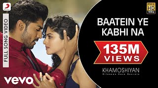Nonton Baatein Ye Kabhi Na   Khamoshiyan   Ali Fazal   Sapna Pabbi   Arijit Singh Film Subtitle Indonesia Streaming Movie Download