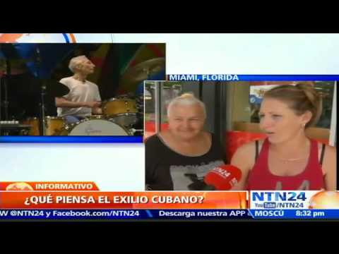 Ciudadanos del exilio cubano en Miami reaccionaron frente al concierto en la Isla