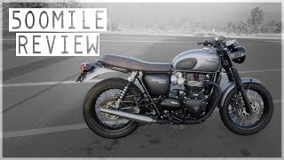 4. Triumph Bonneville T120 - 500 Mile Review, Walk-Around & Impressions | Moto Vlog