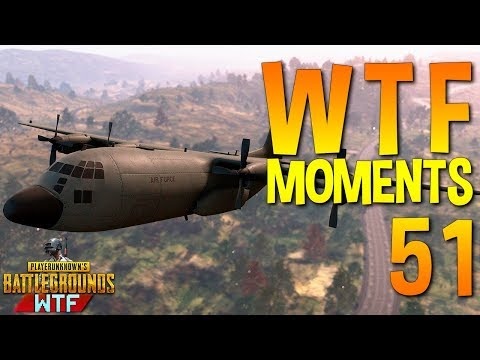 PUBG WTF Funny Moments Highlights Ep 51 (playerunknown's battlegrounds Plays) (видео)