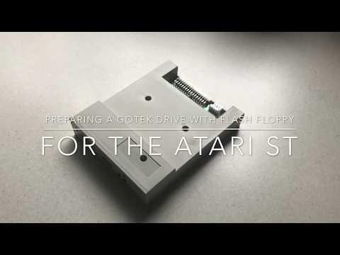 Preparing the Gotek Floppy Emulator for the Atari ST