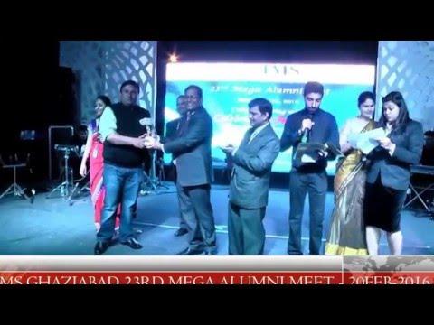 Video IMS Ghaziabad Distinguished Alumni Felicitation Ceremony during 23rd Mega Alumni Meet 2016 download in MP3, 3GP, MP4, WEBM, AVI, FLV January 2017
