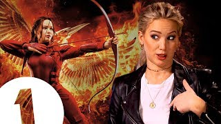 "Video ""Did you guys know I was in the Hunger Games?"" Jennifer Lawrence on where she keeps Katniss's bow. MP3, 3GP, MP4, WEBM, AVI, FLV Februari 2019"