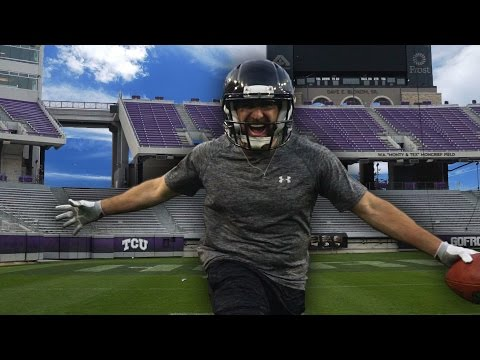 Dude Perfect s WorldRecord Breaking Football Trick