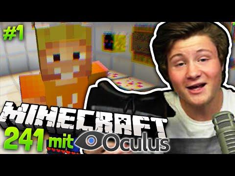 NICHT SCHON WIEDER :O | Minecraft 241 #1 mit OCULUS RIFT 2
