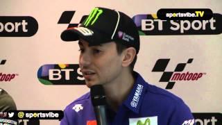 Jorge Lorenzo Talks Challenging Valentino Rossi And Silverstone