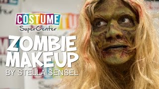 Zombie Makeup Demo at New Jersey Comic Exp