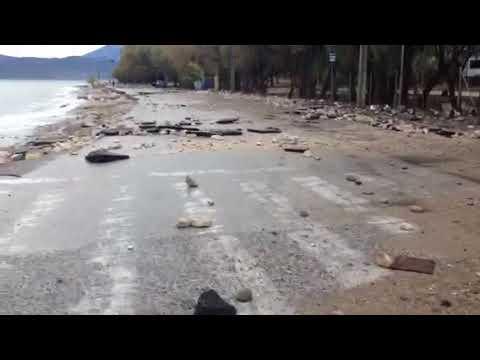 Video - Προβλήματα κι απεγκλωβισμοί οδηγών και στην Πάτρα
