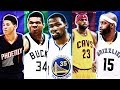 BEST NBA PLAYER FROM EACH AGE