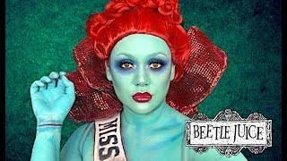 MISS ARGENTINA BEETLEJUICE MAKEUP TUTORIAL! by Kat Sketch