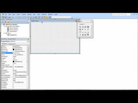 Excel User Forms – How to Add an Excel User Form