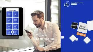 Virtuelle Konferenz App - Produktvorstellung Online