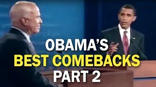 Video Obama's Best Comebacks and Rebuttal Moments - Part 2 MP3, 3GP, MP4, WEBM, AVI, FLV Maret 2019