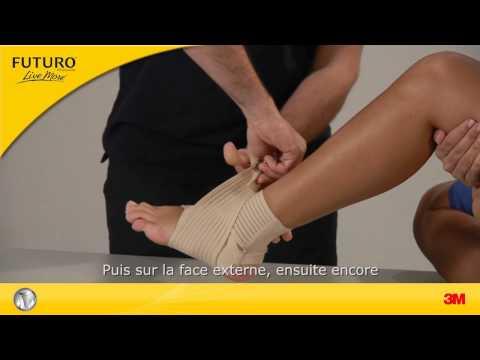 FUTURO™: Schmerzen und Verletzungen im Sprunggelenk behandeln