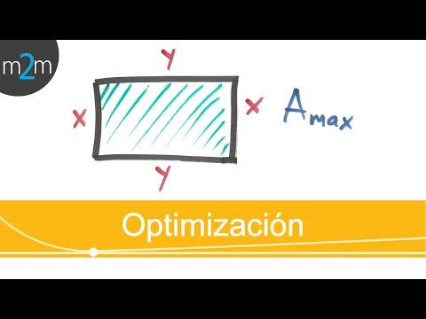 Optimierung der Fläche eines Rechtecks ??- HD