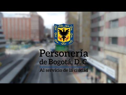 video de la personeria de bogota