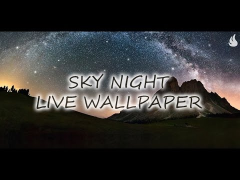 Video of Star Night Live Wallpaper