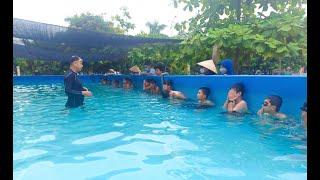 Phường Phương Nam khai giảng lớp dạy bơi miễn phí cho trẻ em có hoàn cảnh khó khăn