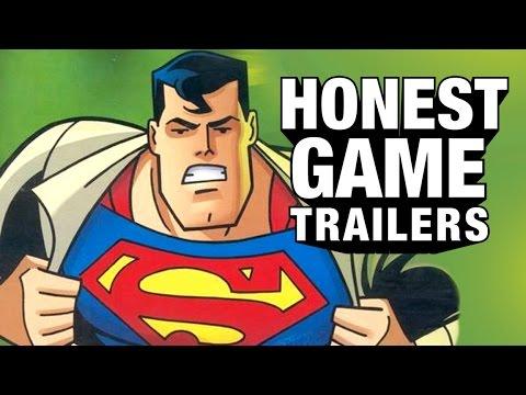 au clips honest-game-trailers humour tag-retro superman superman-64