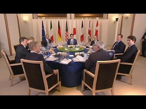 Brexit και ανάπτυξη της παγκόσμιας οικονομίας στην ατζέντα των G7