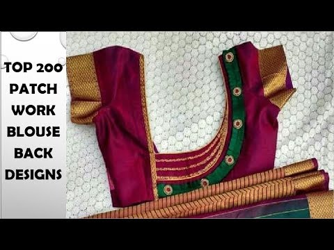 Top 200 Latest Patch Work Blouse Designs | Don't Miss It | Ladies Conrer