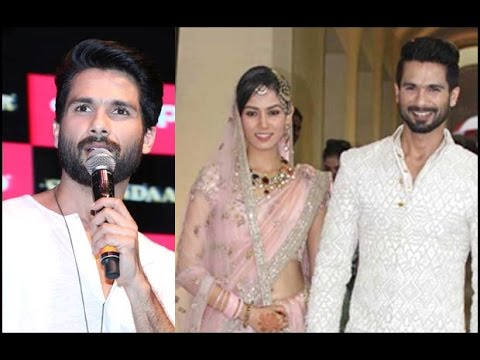 Shahid Kapoor Gets Offended On Wife Mira's Quest