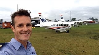 A brief synopsis of what a normal day flying for MAF in PNG looks like.