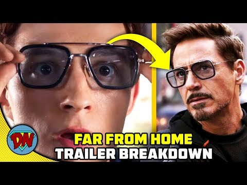 Spider-man Far From Home Trailer Breakdown In Hindi | Desinerd