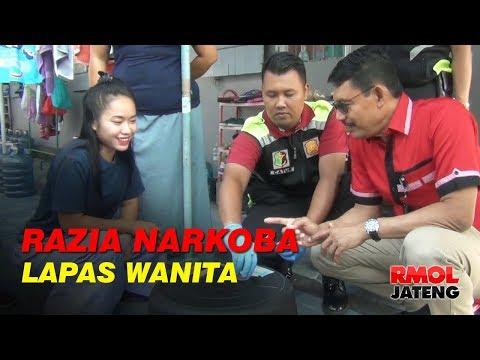 Ditresnarkoba Polda Jateng Razia Lapas Wanita Semarang