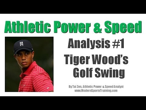 Analyzing the Power And Speed Of Tiger Woods.