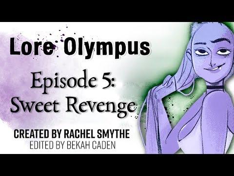 〖 Lore Olympus Episode 5; Sweet Revenge〗Webtoon Comic Dub