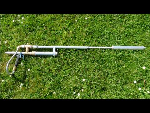 Homemade Silenced Metal Airgun