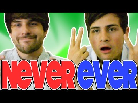 "Ever - Watch last week's LUNCHTIME! http://youtu.be/YRRA9tY2MUA Our FIRST game of ""Never Have I Ever!"